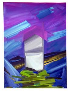 """Sleeping Pills: oil on canvas 36""""x48"""""""